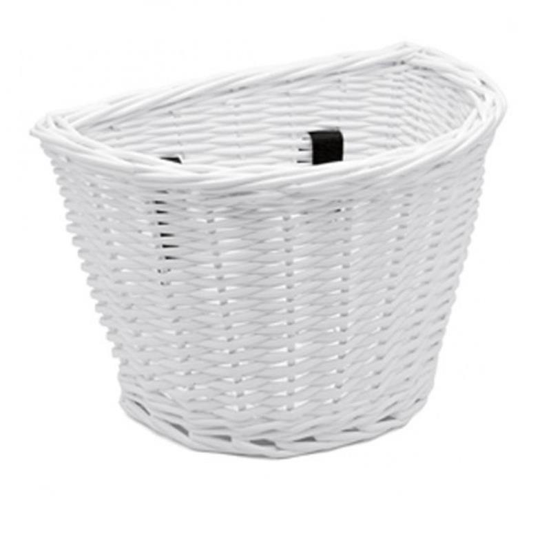 Electra Kinder Fahrradkorb Wicker Basket, Weiß
