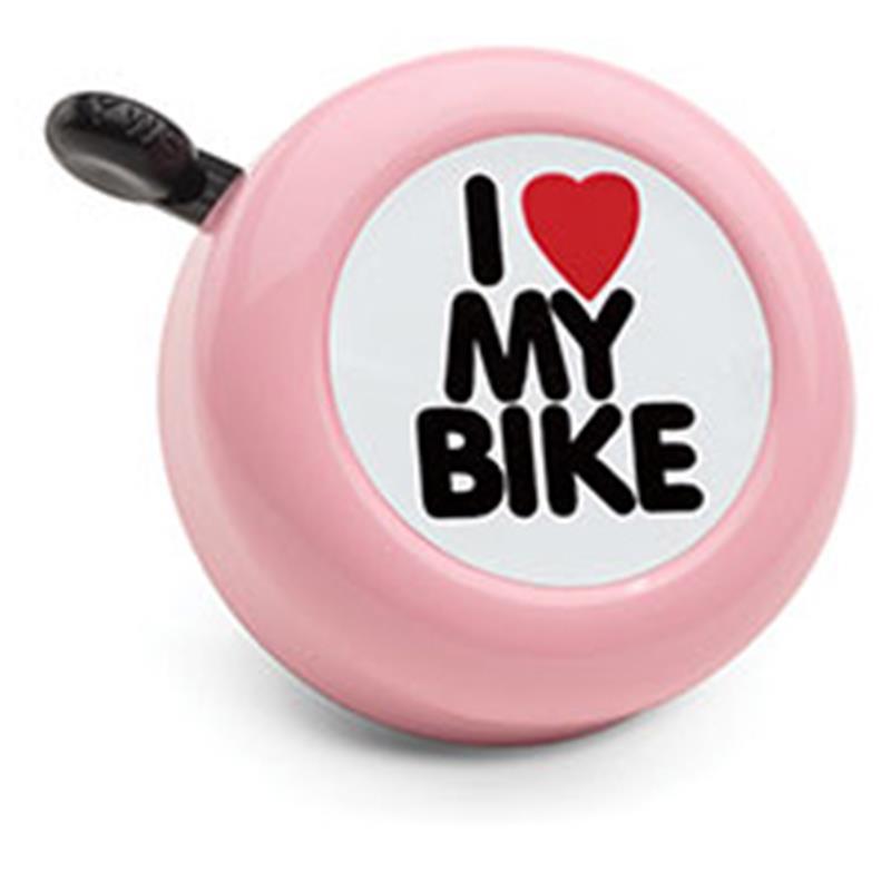 Electra Fahrradklingel I Love My Bike, Rosa