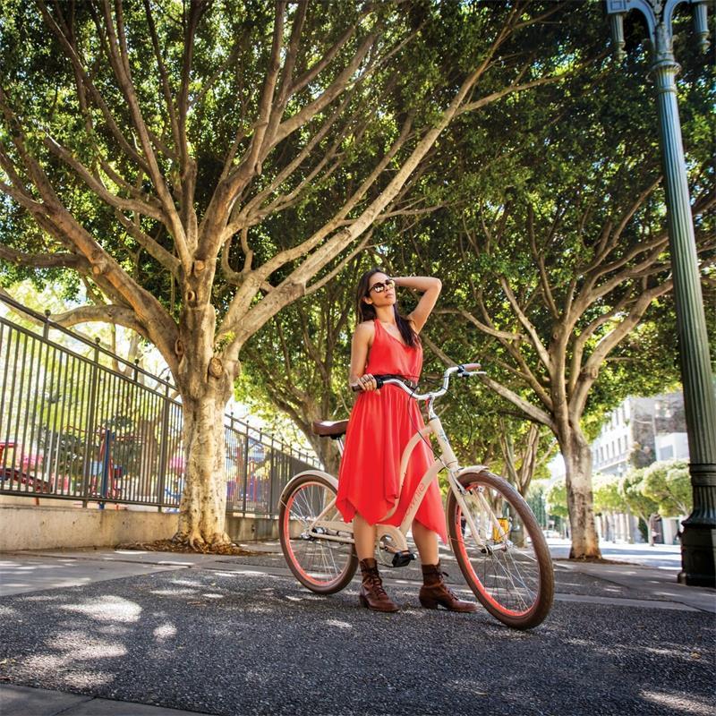 """Electra Damen Fahrrad Townie Original 21D EQ Stadtrad, Wintermint, 21 Gang, 26"""""""