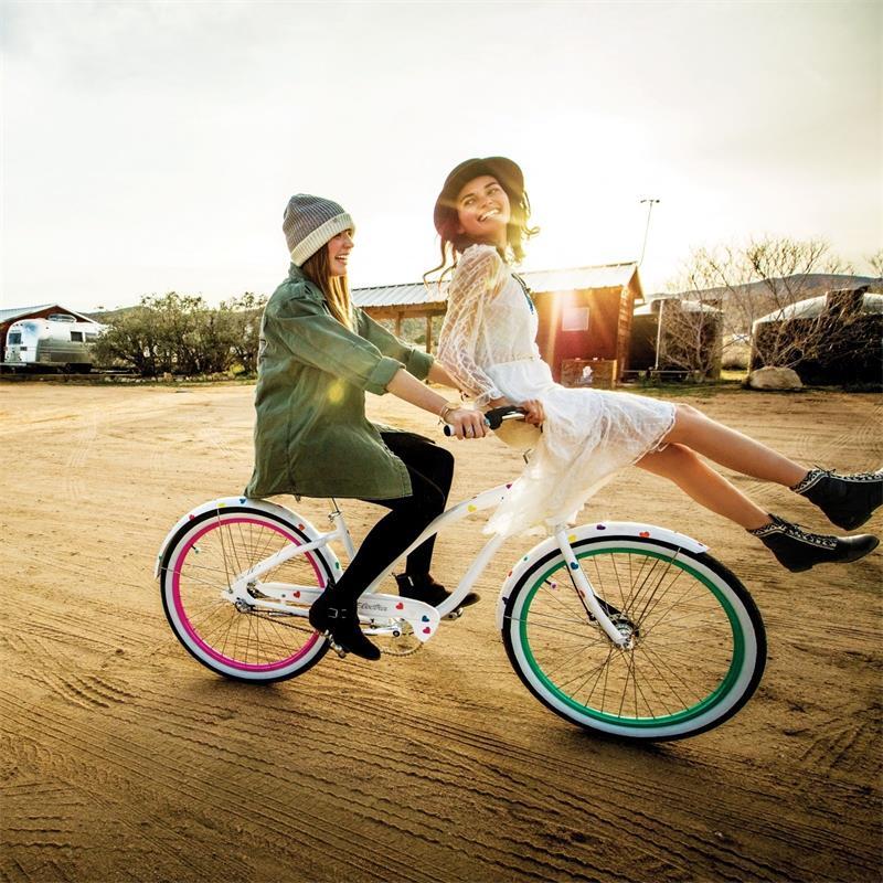 """Electra Damen Fahrrad Daydreamer 3i Beachcruiser, Blau, 3 Gang, 26"""""""