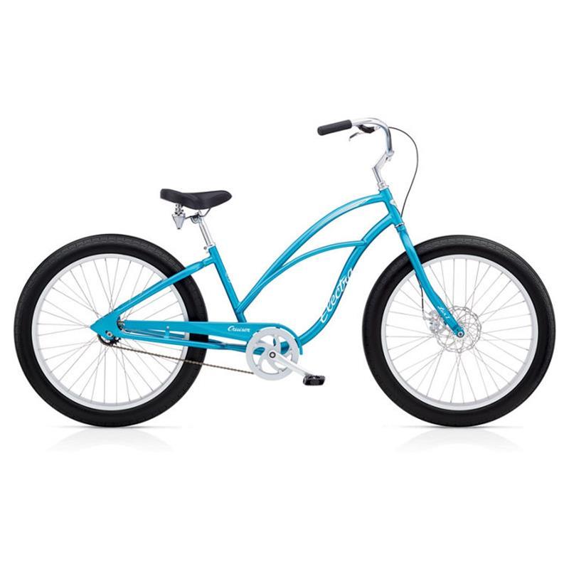 "Electra Damen Fahrrad Lux Fat Bike 1 Fatbike, Blau, 1 Gang, 26"""