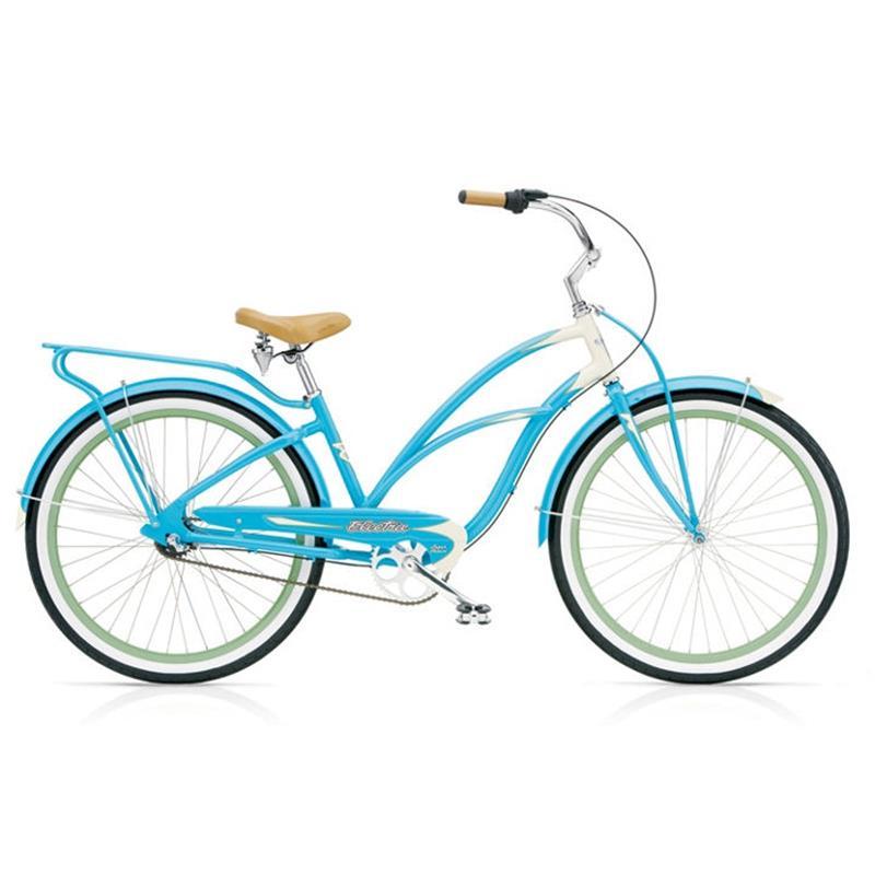 """Electra Damen Fahrrad Super Deluxe 3i Beachcruiser, 3 Gang, 26"""""""