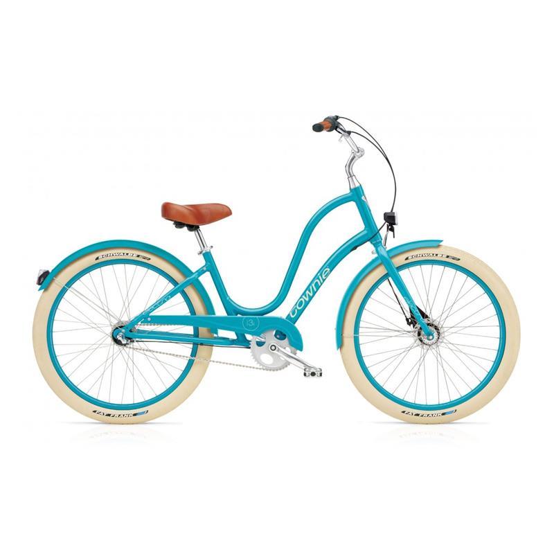 """Electra Damen Fahrrad Townie Balloon 7i EQ, Azurblau, 7 Gang, 26"""""""