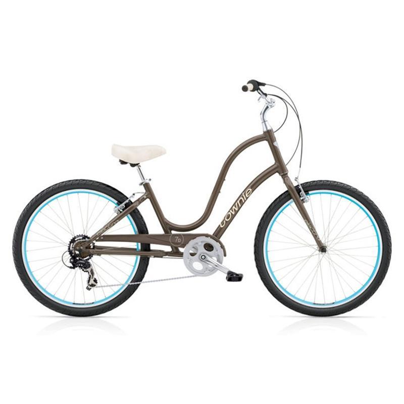 "Electra Damen Fahrrad Townie Original 7D Stadtrad, Grau, 7 Gang, 26"""