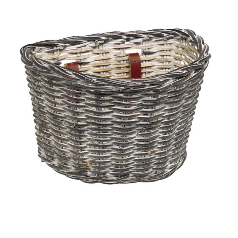 Electra Fahrradkorb Wicker Basket Rattan, Schwarz