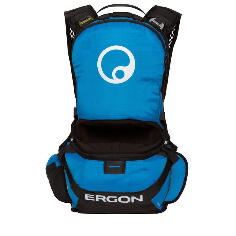 Ergon Protektorenrucksack BE1 Enduro Protect, Blau