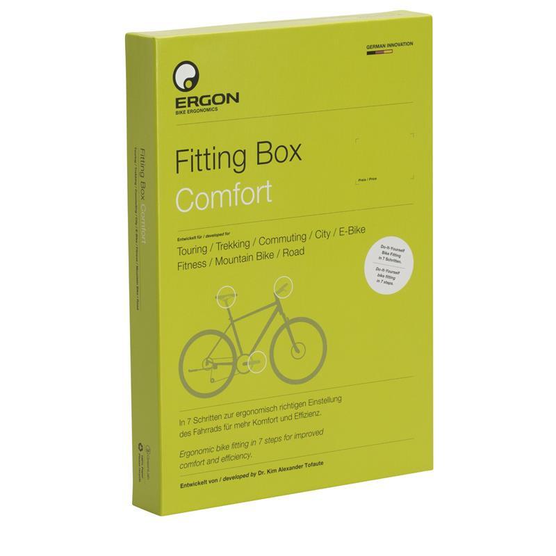 Ergon Einstellhilfe Fitting Box Comfort, Grün