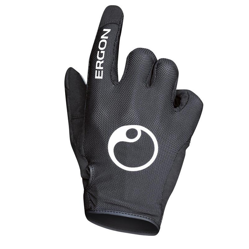Ergon Unisex Handschuhe HM2, Schwarz