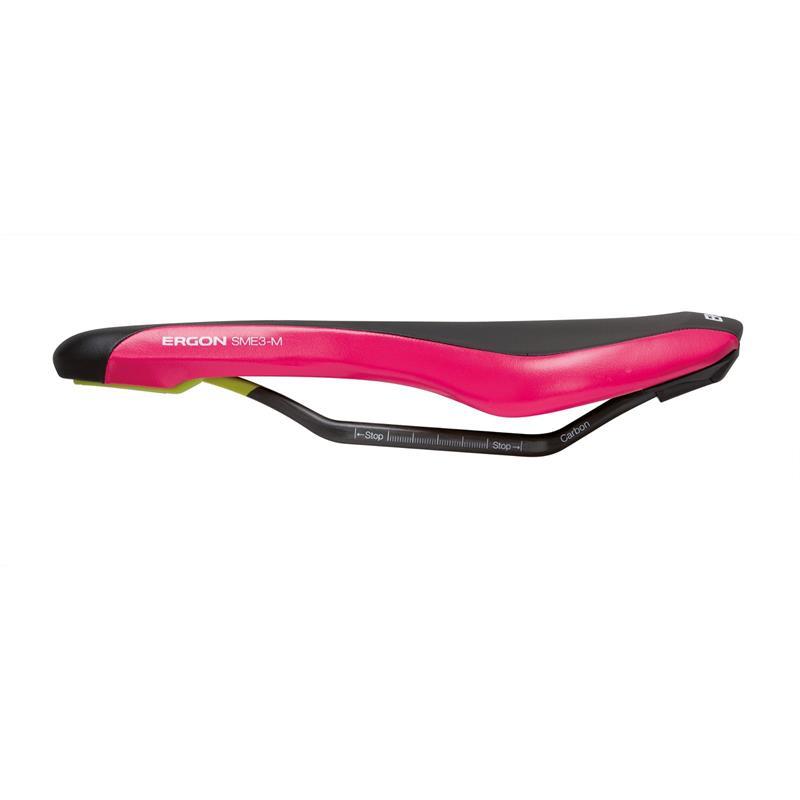 Ergon Unisex Fahrradsattel SME3 Pro Carbon, Pink