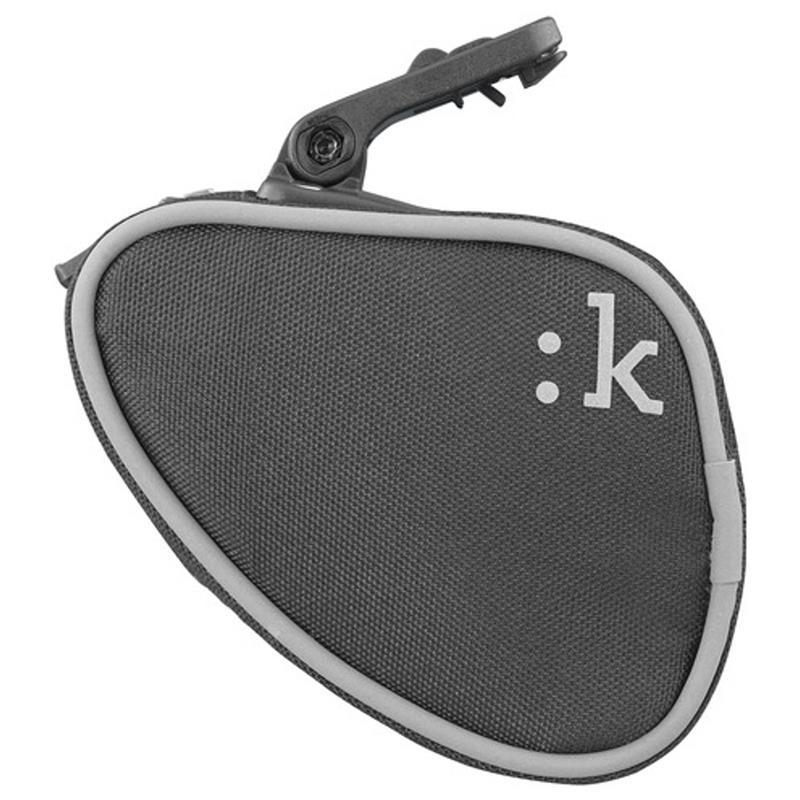 Fizik Satteltasche Cli:k ICS, Schwarz Grau