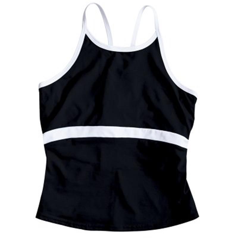Insport Damen Funktionstop Black Strap, Schwarz