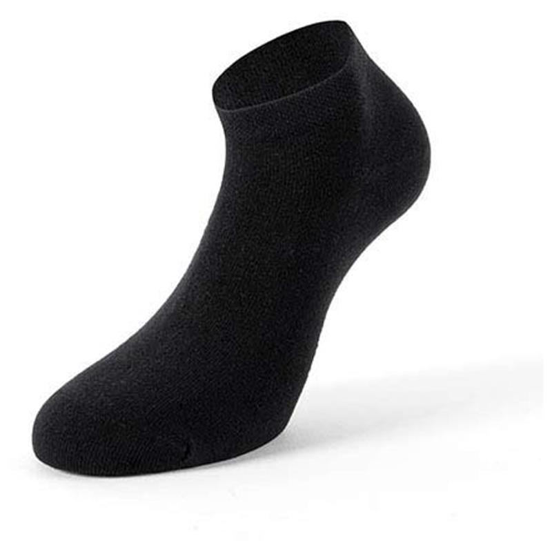 Lenz Unisex Socken Duos 7 Paar Nummeriert 1-7, Schwarz