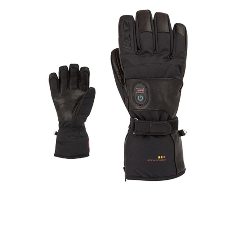 Lenz Damen Beheizbare Handschuhe Heat Glove 1.0, Schwarz