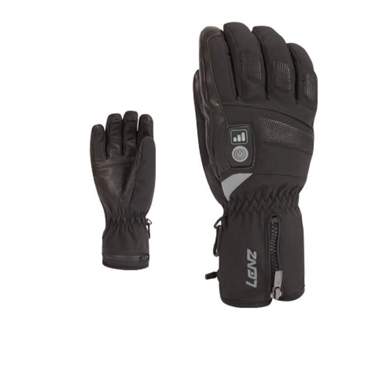 Lenz Damen Beheizbare Handschuhe Heat Glove 2.0, Schwarz