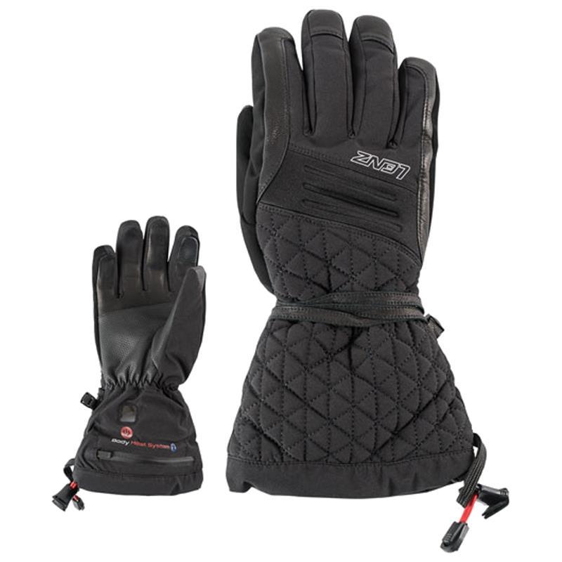 Lenz Damen Beheizbare Handschuhe Heat Glove 4.0, Schwarz