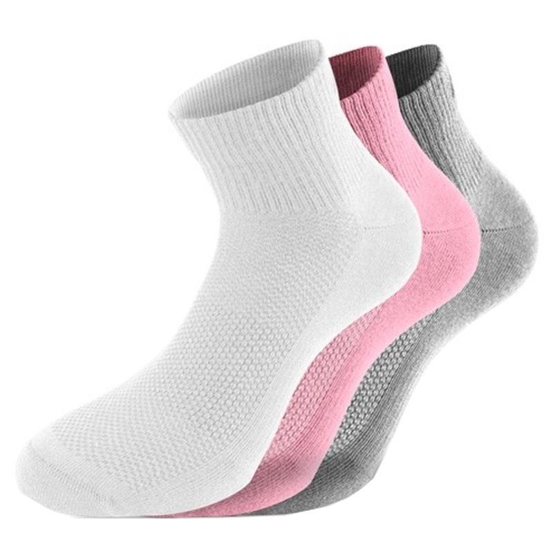 Lenz Unisex Socken Quarter 3 Paar