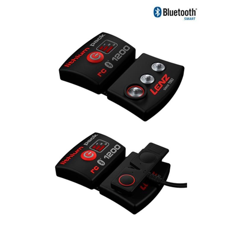 Lenz Unisex Beheizbare Socken & Akkus Heat 3.0 mit Lithium Pack rcB1200, Schwarz