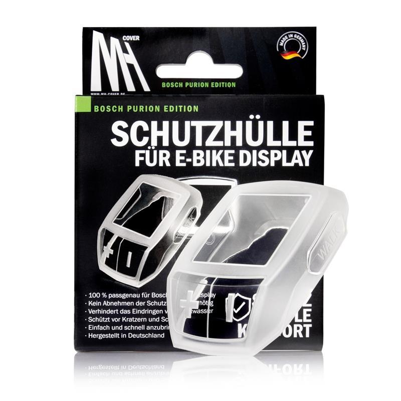 MH Cover E-Bike Display Silikon-Schutzhülle, Transparent