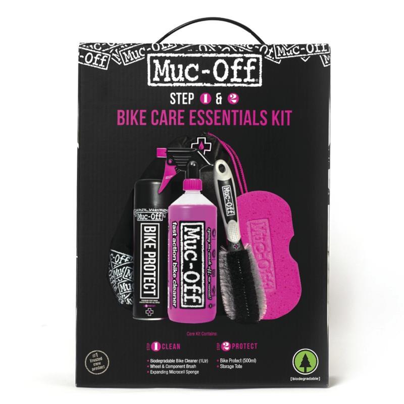 Muc Off Fahrradreiniger Set Essentials Bicycle Kit 5-teilig