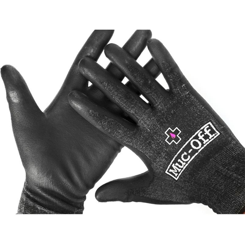 Muc Off Unisex Arbeitshandschuhe Mechanics Glove, Schwarz