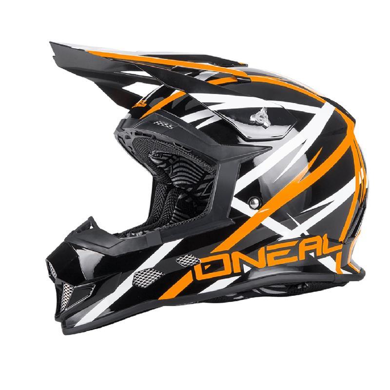 O'NEAL Crosshelm 2SRS EVO Thunderstruck, Orange