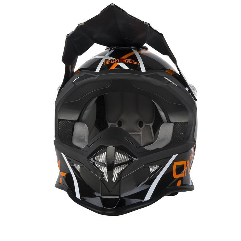 O'NEAL Crosshelm 2SRS Thunderstruck, Orange