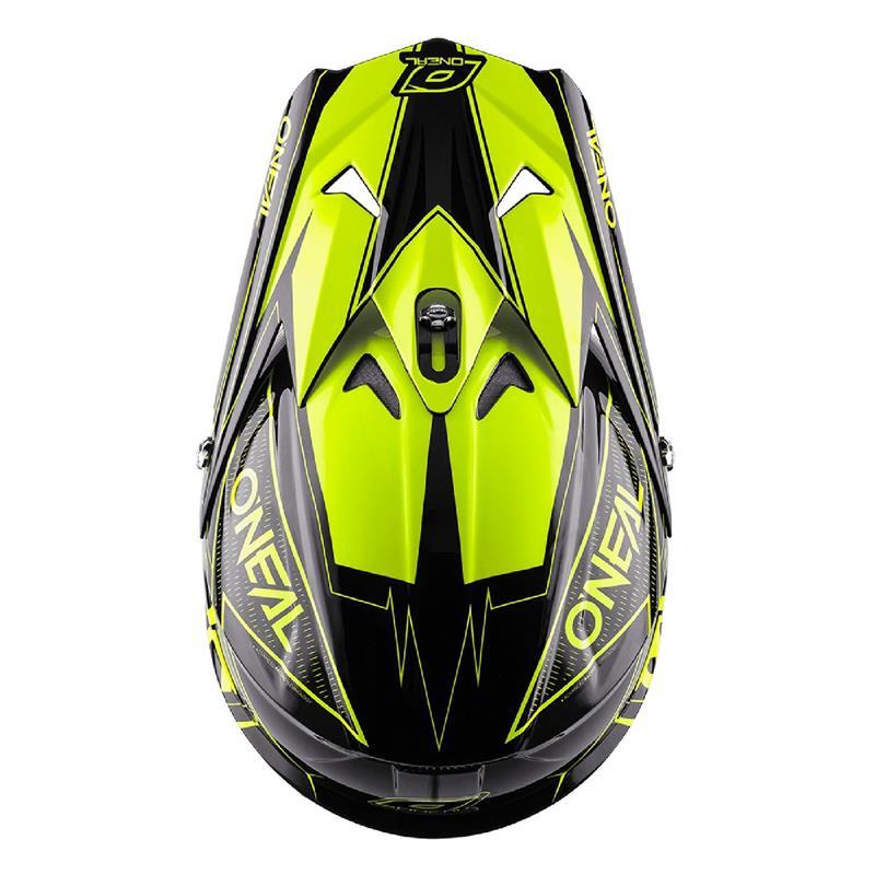 O'NEAL Crosshelm 3SRS MX Fuel, Neon Gelb