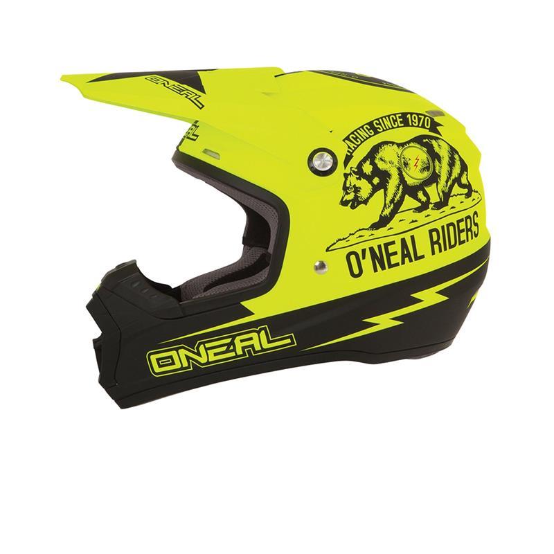O'NEAL Crosshelm 5SRS MX Calfornia, Neon Gelb