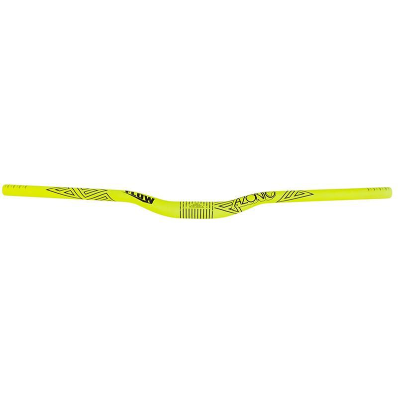 Azonic Fahrradlenker Flow Handlebar, Gelb, 31,8 mm, 800 mm