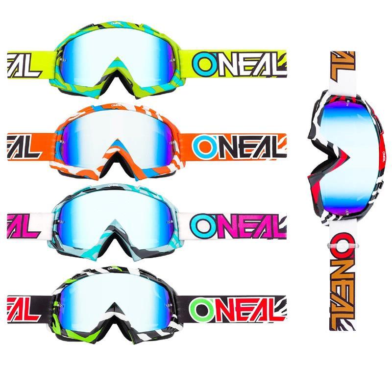 O'NEAL Crossbrille B-10 Goggle Stream Radium