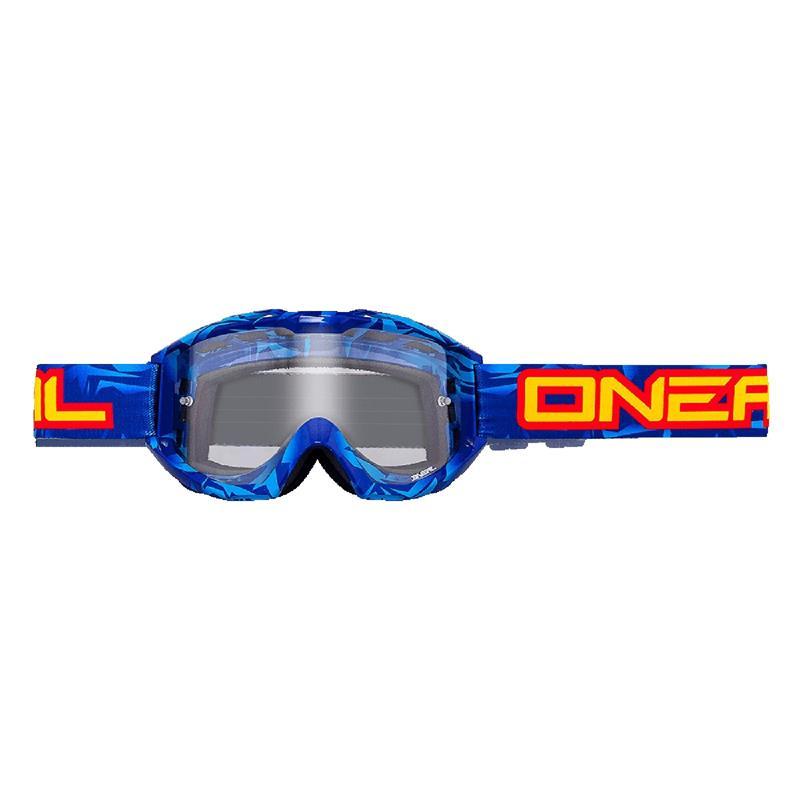 O'Neal Crossbrille B1 RL Goggle Icebreaker Clear, Blau