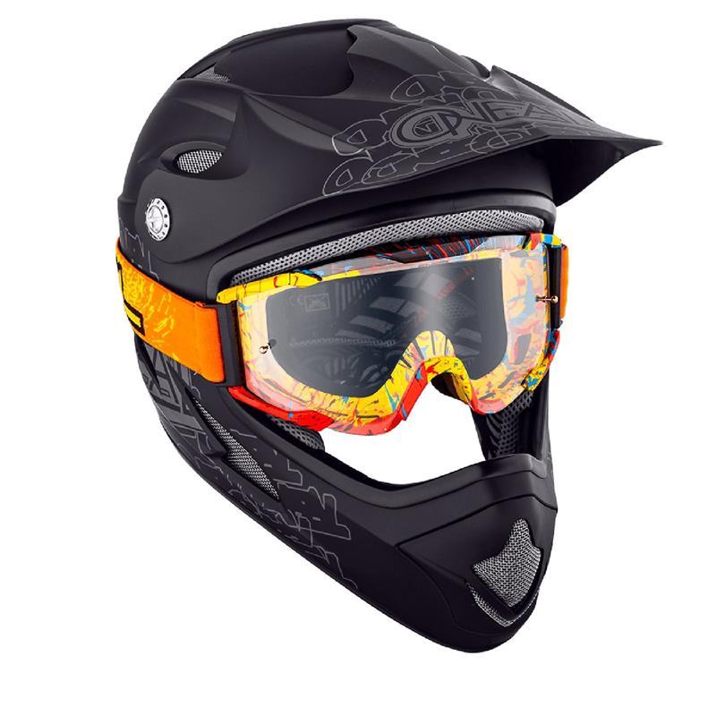 O'Neal Crossbrille B2 RL Goggle Spray Clear, Orange