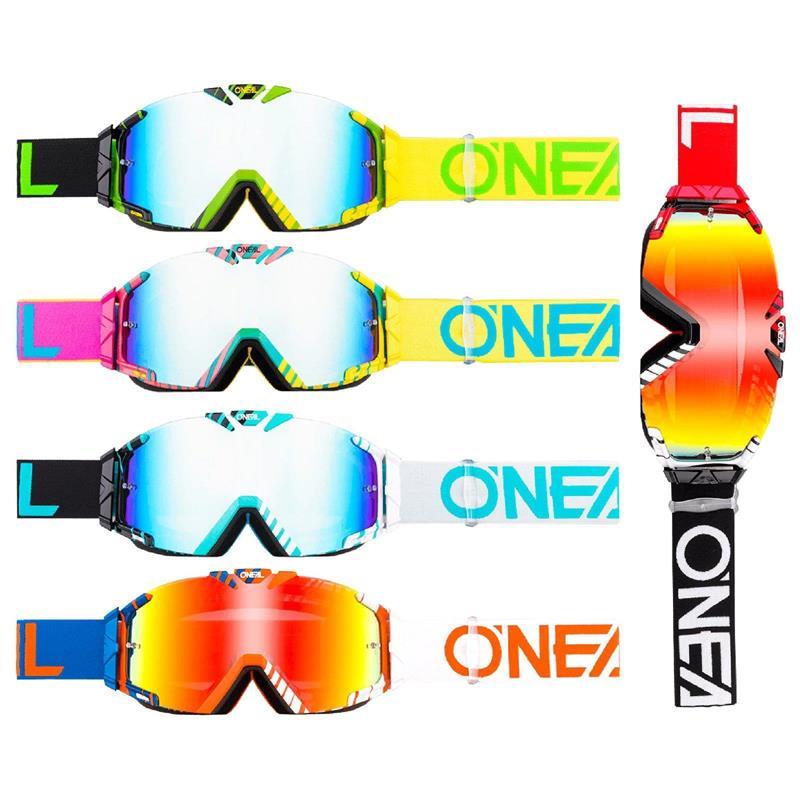 O'NEAL Crossbrille B-30 Goggle Duplex Radium