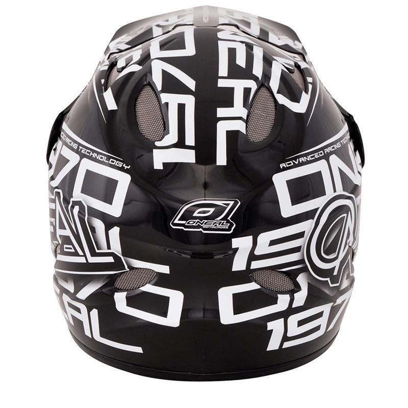 O'NEAL Fullfacehelm Backflip Fidlock DH EVO Race, Schwarz