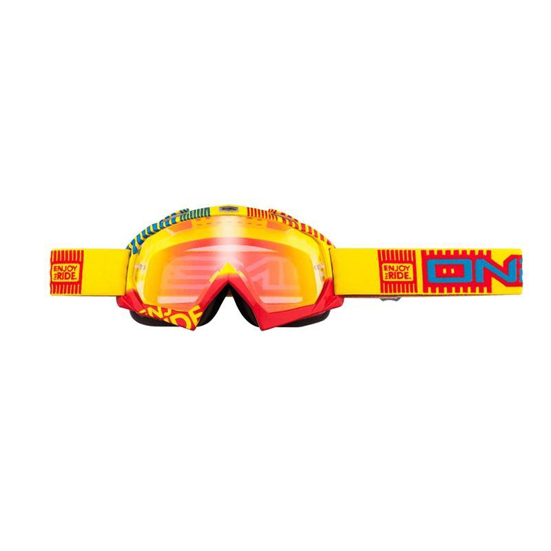 O'Neal Crossbrille B-Flex Goggle ETR Radium, Gelb