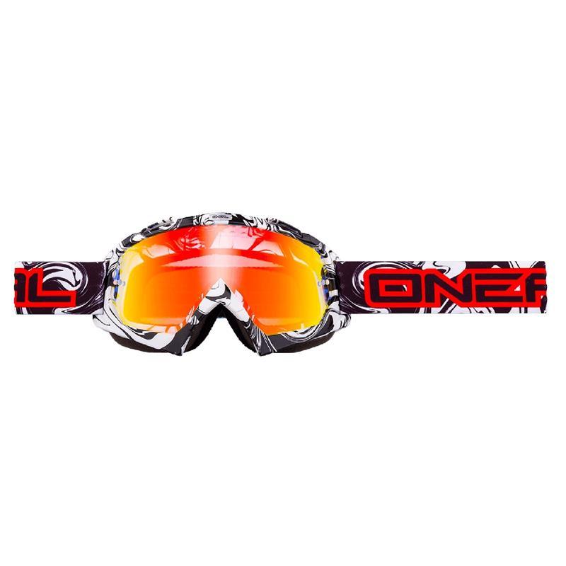 O'NEAL Crossbrille B-Flex Goggle Hendrix Radium, Schwarz