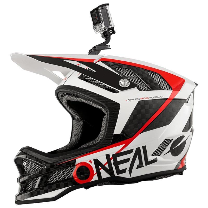 O'Neal Fullfacehelm Blade Carbon GM Signature, Weiß