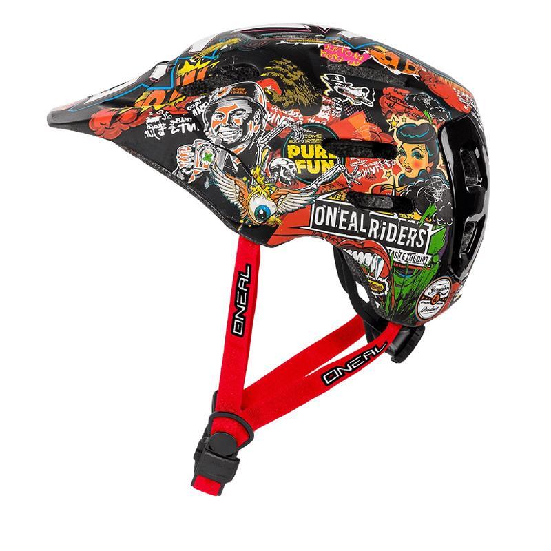 O'NEAL Fahrradhelm Defender Crank, Mehrfarbig