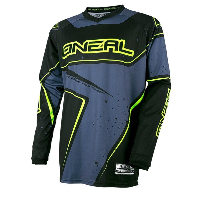 O'NEAL Herren Jersey Element Racewear, Grau