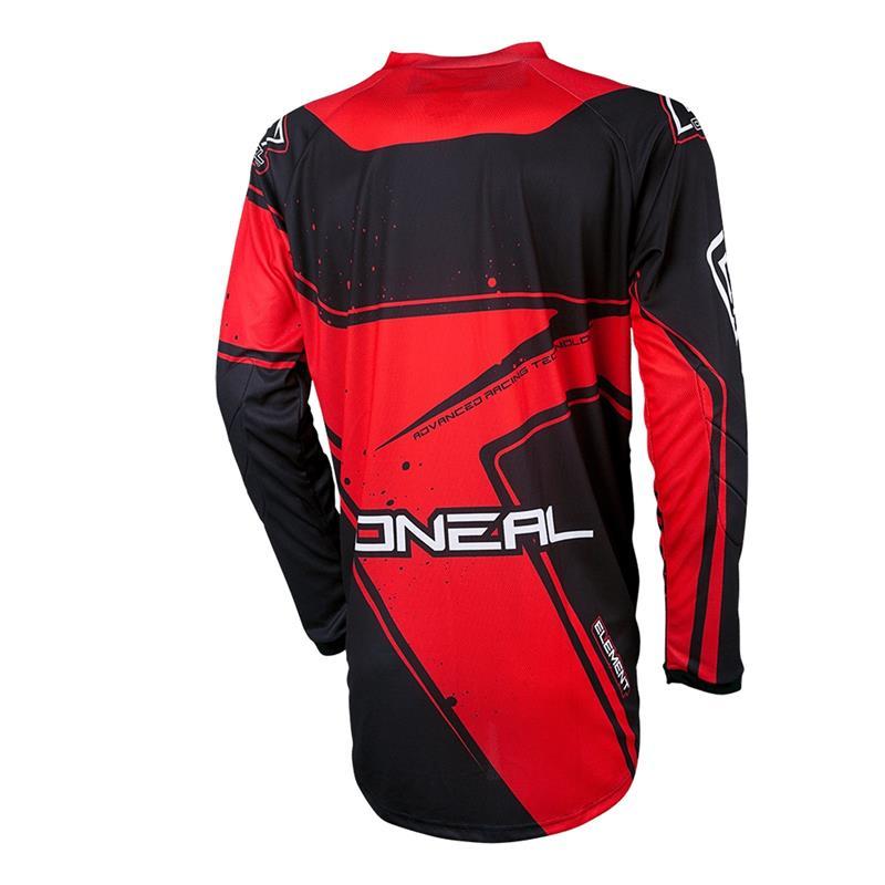 O'NEAL Herren Jersey Element Racewear, Rot
