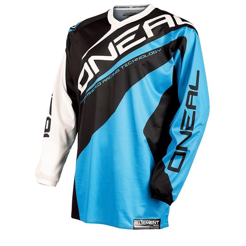 O'NEAL Herren Jersey Element Racewear, Blau