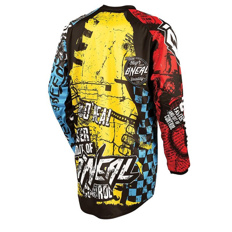 O'NEAL Herren Jersey Element Racewear Wild, Mehrfarbig