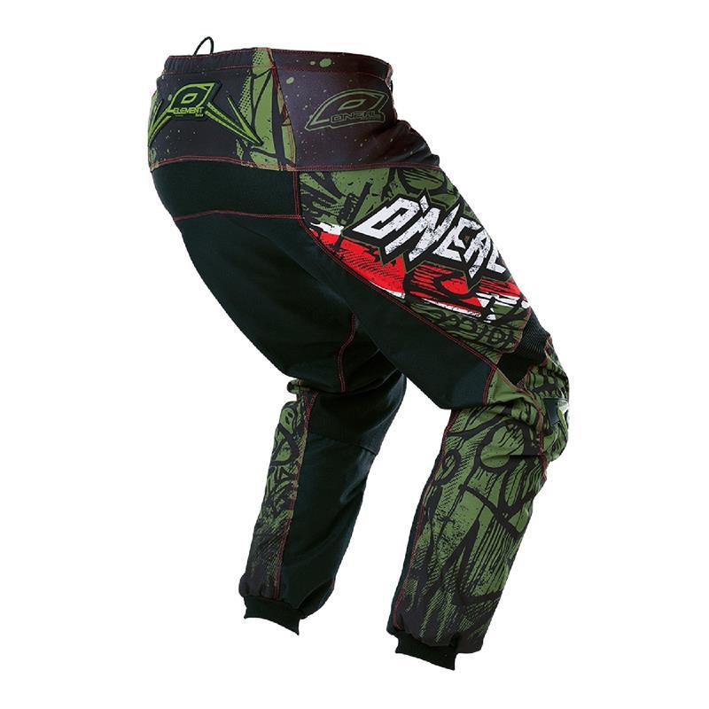 O'Neal Herren Motocross Hose Element Vandal, Grün