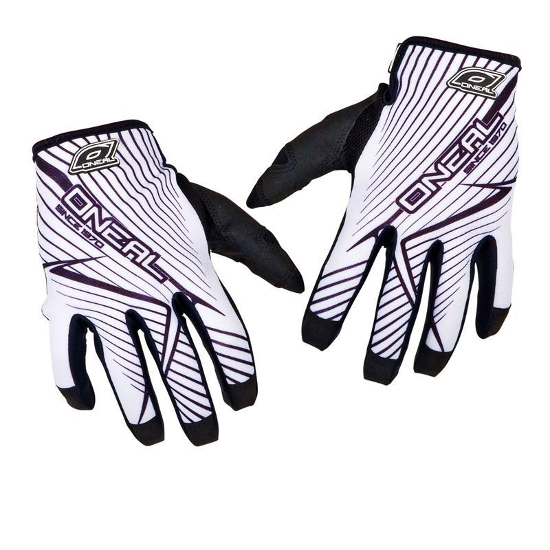 O'NEAL Unisex Handschuhe Jump Race, Weiß