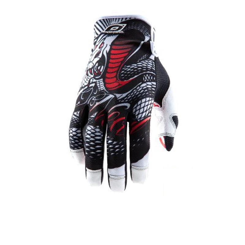 O'NEAL Unisex Handschuhe Jump Serpent, Schwarz