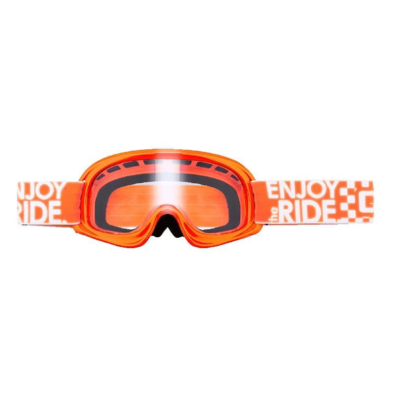 O'Neal Kinder Crossbrille B-Youth Goggle Clear, Orange