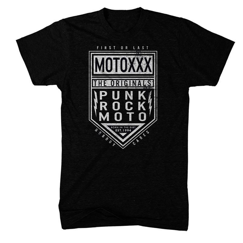 O'Neal Unisex T-Shirt Moto XXX Circuit, Schwarz