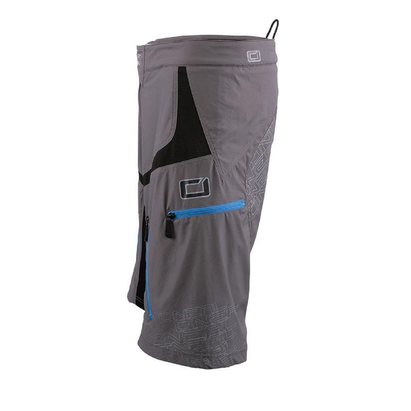 O'Neal Herren Downhill Shorts Pin It II, Grau