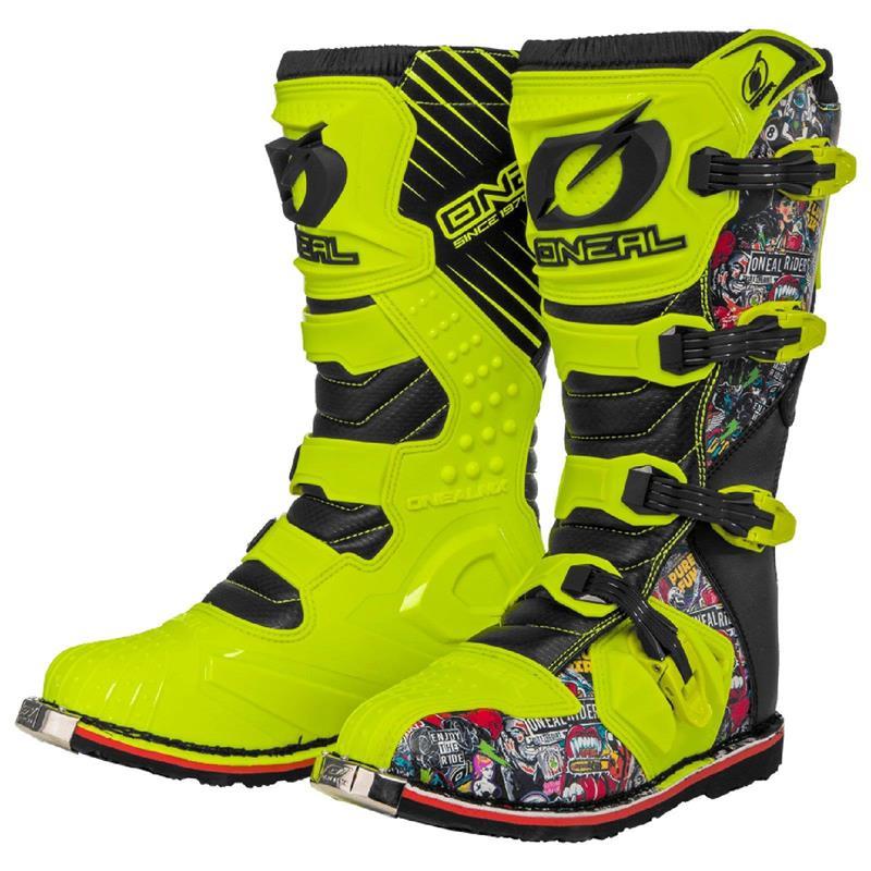 O'Neal Unisex Motocross Stiefel Rider Boot Crank, Gelb