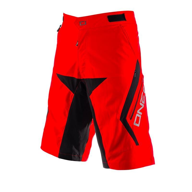 O'NEAL Herren Downhill Shorts Rockstacker, Rot